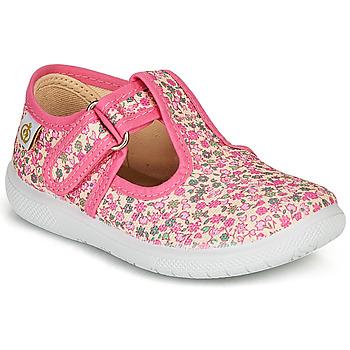 鞋子 女孩 平底鞋 Citrouille et Compagnie MATITO 玫瑰色 / 多彩