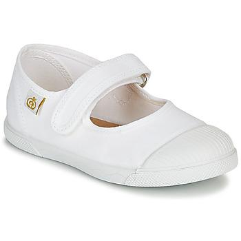 鞋子 女孩 平底鞋 Citrouille et Compagnie APSUT 白色