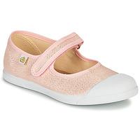 鞋子 女孩 平底鞋 Citrouille et Compagnie APSUT 玫瑰色