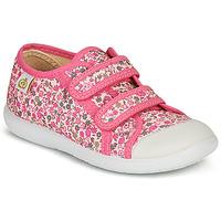 鞋子 女孩 球鞋基本款 Citrouille et Compagnie GLASSIA 玫瑰色 / 多彩