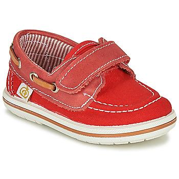 鞋子 男孩 船鞋 Citrouille et Compagnie GASCATO 红色