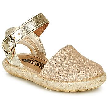 鞋子 女孩 凉鞋 Citrouille et Compagnie MIOSOTIS 金色
