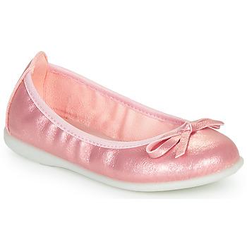 鞋子 女孩 平底鞋 Citrouille et Compagnie INOBALI 玫瑰色