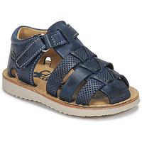 鞋子 男孩 凉鞋 Citrouille et Compagnie MISTIGRI 海蓝色