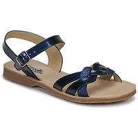 鞋子 女孩 凉鞋 Citrouille et Compagnie MADELLE 海蓝色