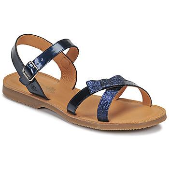 鞋子 女孩 凉鞋 Citrouille et Compagnie JISCOTTE 海蓝色