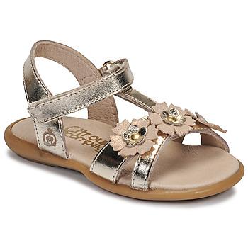 鞋子 女孩 凉鞋 Citrouille et Compagnie MARELLE 银灰色