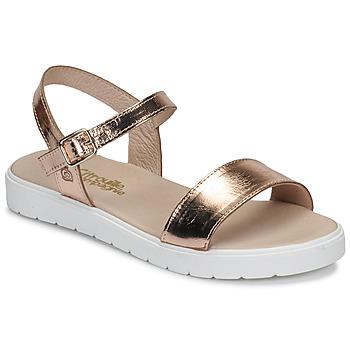 鞋子 女孩 凉鞋 Citrouille et Compagnie GAPOTI 古銅色