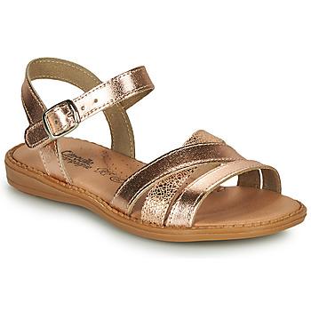 鞋子 女孩 凉鞋 Citrouille et Compagnie IZOEGL 古銅色