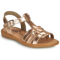 鞋子 女孩 凉鞋 Citrouille et Compagnie ROLUI 古銅色