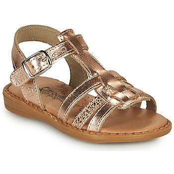 鞋子 女孩 涼鞋 Citrouille et Compagnie ROLUI 古銅色