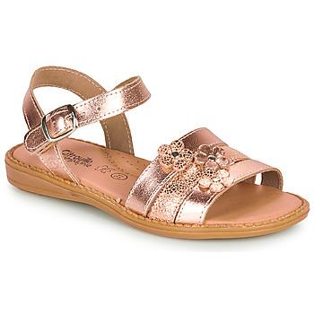鞋子 女孩 凉鞋 Citrouille et Compagnie KATAGUE 古銅色