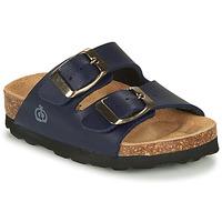 鞋子 男孩 休闲凉拖/沙滩鞋 Citrouille et Compagnie MISTIL 海蓝色