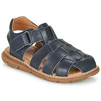鞋子 男孩 凉鞋 Citrouille et Compagnie GLENO 海蓝色