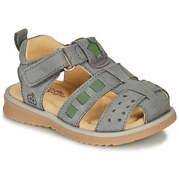 鞋子 男孩 凉鞋 Citrouille et Compagnie MERKO 卡其色