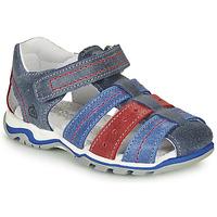 鞋子 男孩 凉鞋 Citrouille et Compagnie MARIDO 蓝色