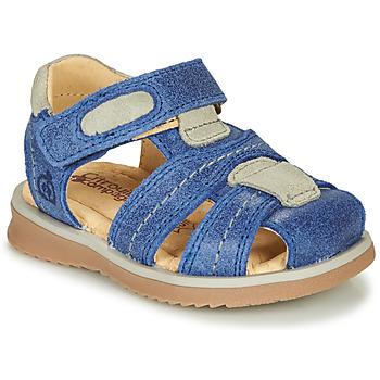 鞋子 男孩 凉鞋 Citrouille et Compagnie MABILOU 蓝色