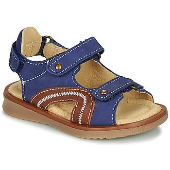 鞋子 男孩 凉鞋 Citrouille et Compagnie MASTIKO 蓝色