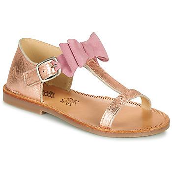 鞋子 女孩 涼鞋 Citrouille et Compagnie MELINDA 銀灰色