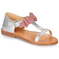 鞋子 女孩 涼鞋 Citrouille et Compagnie MELINDA 玫瑰色 / 金色