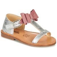 鞋子 女孩 凉鞋 Citrouille et Compagnie MELINDA 玫瑰色 / 金色
