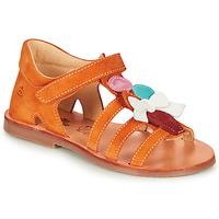 鞋子 女孩 涼鞋 Citrouille et Compagnie MIETTE 橙色