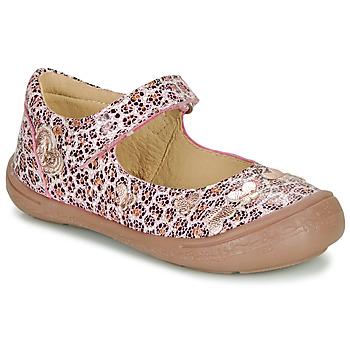 鞋子 女孩 平底鞋 Citrouille et Compagnie JALIPINE Leopard
