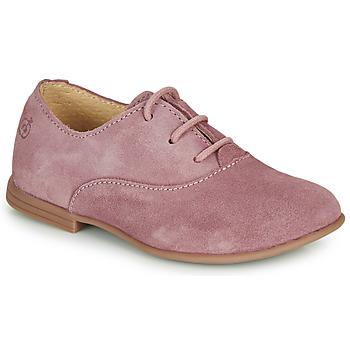 鞋子 女孩 德比 Citrouille et Compagnie MISTI 玫瑰色