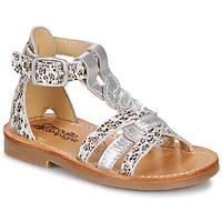 鞋子 女孩 凉鞋 Citrouille et Compagnie GITANOLO Leopard