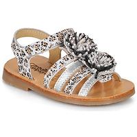 鞋子 女孩 凉鞋 Citrouille et Compagnie MALINETTE Leopard