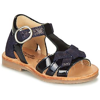 鞋子 女孩 凉鞋 Citrouille et Compagnie MOLINETTE 海蓝色