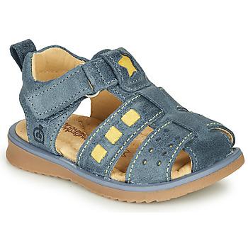 鞋子 男孩 凉鞋 Citrouille et Compagnie MARINO 海蓝色