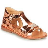 鞋子 女孩 凉鞋 Citrouille et Compagnie MINIMOME 古銅色