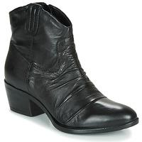 鞋子 女士 短筒靴 Mjus DALLAS-DALLY 黑色