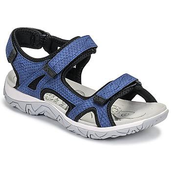 鞋子 女士 运动凉鞋 Allrounder by Mephisto LARISA 蓝色