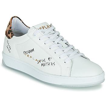 鞋子 女士 球鞋基本款 Replay MELANIA 白色