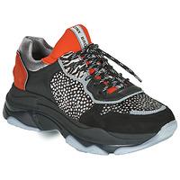 鞋子 女士 球鞋基本款 Bronx BAISLEY 黑色 / 橙色
