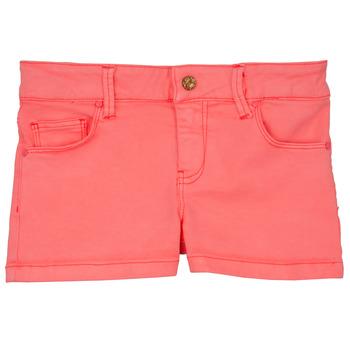 衣服 女孩 短裤&百慕大短裤 Billieblush / Billybandit NOZA 玫瑰色