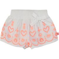 衣服 女孩 短裤&百慕大短裤 Billieblush / Billybandit NEYO 白色