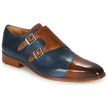 鞋子 男士 系带短筒靴 Melvin & Hamilton LANCE 34 蓝色 / 棕色