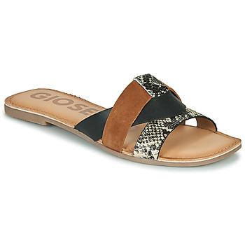 鞋子 女士 休闲凉拖/沙滩鞋 Gioseppo LANTANA 黑色 / 棕色