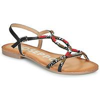 鞋子 女士 凉鞋 Gioseppo PARISH 黑色 / 红色