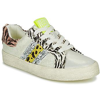 鞋子 女孩 球鞋基本款 Gioseppo TIRRENIA 白色 / 黄色 / 银灰色