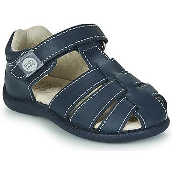 鞋子 男孩 凉鞋 Gioseppo LUINO 海蓝色