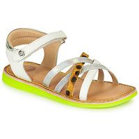 鞋子 女孩 凉鞋 Gioseppo STAGGIA 白色 / 黄色