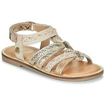 鞋子 女孩 凉鞋 Gioseppo PIGNOLA 米色 / 金色