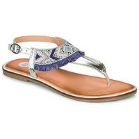 鞋子 女孩 凉鞋 Gioseppo BERMUDAS 蓝色 / 白色