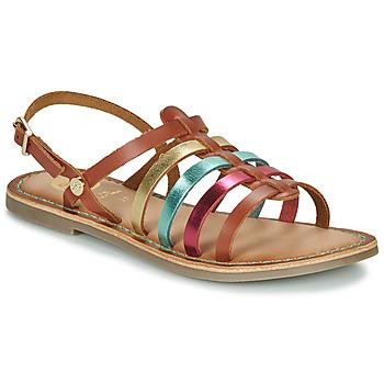 鞋子 女孩 凉鞋 Gioseppo ETALLE 棕色 / 多彩