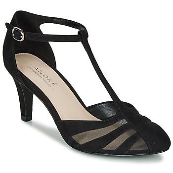 鞋子 女士 高跟鞋 André FALBALINE 黑色
