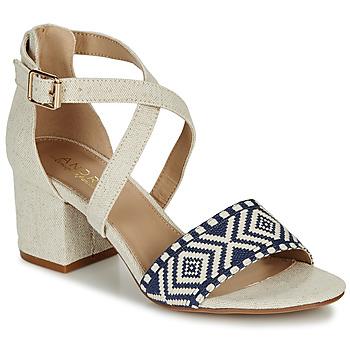 鞋子 女士 凉鞋 André PAOLITA 米色